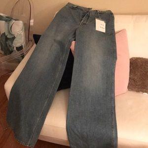 Acne Jeans - Acne Studios Tiffan Den Blue Jeans SS2018 NWT